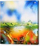 Rainbowland  Acrylic Print