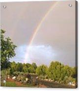 Rainbows Blessing Acrylic Print