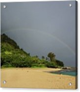 Rainbows End Acrylic Print