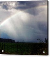 Ranchette Rainbow Acrylic Print