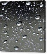 Raindrops  1 Acrylic Print