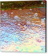 Raindrops 6877 Acrylic Print