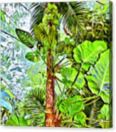 Rainforest Green Acrylic Print