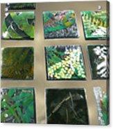 Rainforest Tile Prints Acrylic Print