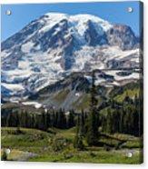 Rainier Mazama Ridge Acrylic Print
