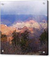 Raining In The Canyon Acrylic Print