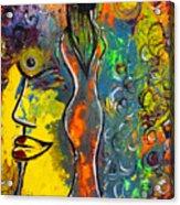Rainsunbow Acrylic Print