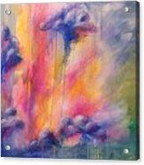 Rainwater Acrylic Print