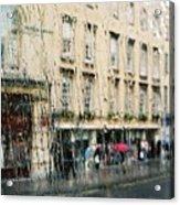 Rainy Bath Acrylic Print