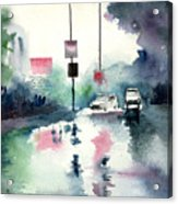 Rainy Day Acrylic Print