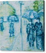 Rainy Day Impression Acrylic Print
