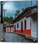Rainy Day In Copala Acrylic Print