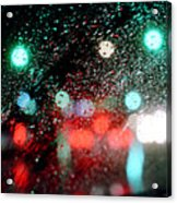 Rainy Day In The City Acrylic Print