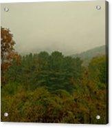 Rainy Day In White Creek Acrylic Print