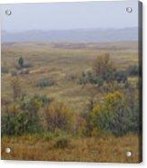 Rainy Day On The Plains Acrylic Print