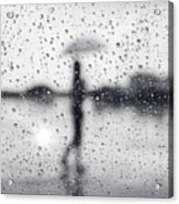 Rainy Day Acrylic Print by Setsiri Silapasuwanchai