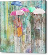 Rainy In Paris 2 Acrylic Print