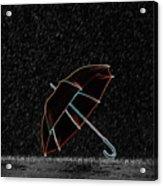 Rainy Night  Acrylic Print