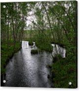 Rainy River. Koirajoki Acrylic Print