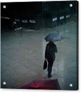 Rainy Whether In London. Acrylic Print