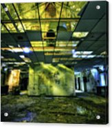 Raise The Roof Acrylic Print by Evelina Kremsdorf