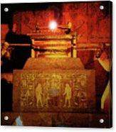 Raising The Ark Acrylic Print