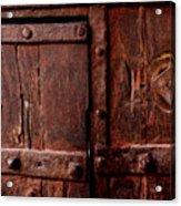 Rajasthan Door Acrylic Print