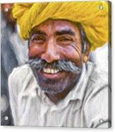 Rajput High School Teacher - Paint Acrylic Print