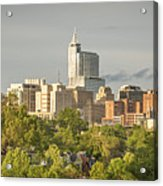 Raleigh Nc Panoramic Acrylic Print