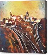 Raleigh Sunrise II Acrylic Print