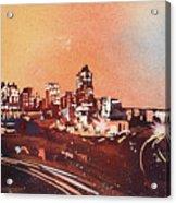 Raleigh Sunrise Iv Acrylic Print
