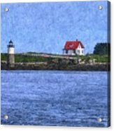 Ram Island Lighthouse Acrylic Print