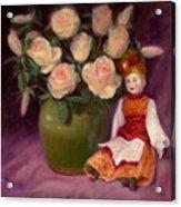 Ramblin Rose Acrylic Print