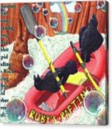 Rambunctious Ravens Acrylic Print