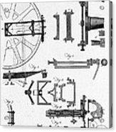 Ramsdens Dividing Engine, 18th Century Acrylic Print