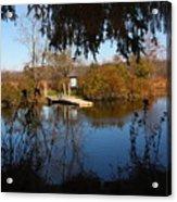 Ramshorn Dock In Autumn Acrylic Print