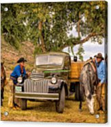 Ranch Hands Acrylic Print