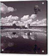 Ranch Pond New Mexico Acrylic Print