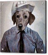 Rancher Dog Acrylic Print
