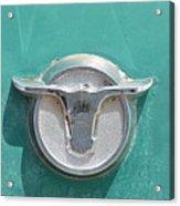 Ranchero Emblem Acrylic Print by Lynda Dawson-Youngclaus