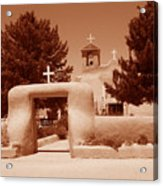 Ranchos De Taos Church   New Mexico Acrylic Print