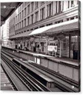Randolph Street Station Chicago Acrylic Print