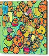 Random Cells 5 Acrylic Print