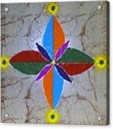 Rangavali Acrylic Print