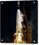 Ranger 1 Atlas-agena Rocket Launch Acrylic Print