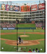Rangers Ballpark In Arlington Acrylic Print