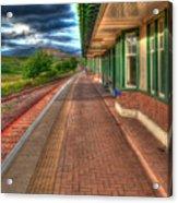 Rannoch Station Platform Acrylic Print