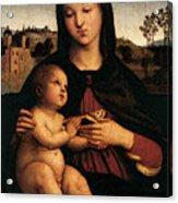 Raphael Madonna And Child C Acrylic Print