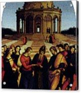 Raphael Marriage Of The Virgin Acrylic Print