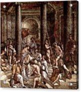 Raphael The Baptism Of Constantine Acrylic Print